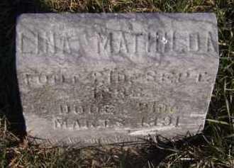 RISLOV, LINA MATHILDA - Moody County, South Dakota | LINA MATHILDA RISLOV - South Dakota Gravestone Photos