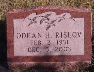 RISLOV, ODEAN H - Moody County, South Dakota | ODEAN H RISLOV - South Dakota Gravestone Photos