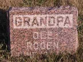 ROGEN, OLE R - Moody County, South Dakota | OLE R ROGEN - South Dakota Gravestone Photos