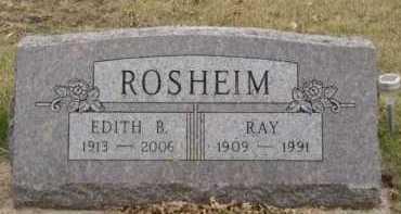 ROSHEIM, EDITH B - Moody County, South Dakota | EDITH B ROSHEIM - South Dakota Gravestone Photos