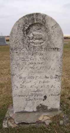 ROSHEIM, OSCAR - Moody County, South Dakota   OSCAR ROSHEIM - South Dakota Gravestone Photos