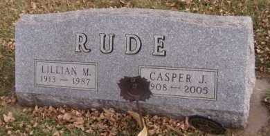 RUDE, CASPER J - Moody County, South Dakota | CASPER J RUDE - South Dakota Gravestone Photos
