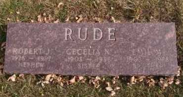 RUDE, EMIL M - Moody County, South Dakota | EMIL M RUDE - South Dakota Gravestone Photos