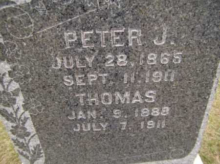 SABY, PETER J (CLOSEUP) - Moody County, South Dakota | PETER J (CLOSEUP) SABY - South Dakota Gravestone Photos