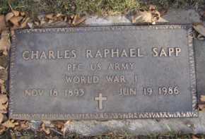 SAPP, CHARLES RAPHAEL - Moody County, South Dakota | CHARLES RAPHAEL SAPP - South Dakota Gravestone Photos
