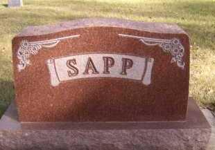 SAPP, FAMILY - Moody County, South Dakota | FAMILY SAPP - South Dakota Gravestone Photos