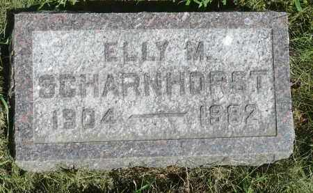 SCHARNHORST, ELLY M. - Moody County, South Dakota | ELLY M. SCHARNHORST - South Dakota Gravestone Photos