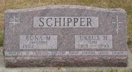 SCHIPPER, EDNA M - Moody County, South Dakota | EDNA M SCHIPPER - South Dakota Gravestone Photos