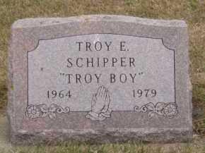 SCHIPPER, TROY E - Moody County, South Dakota | TROY E SCHIPPER - South Dakota Gravestone Photos