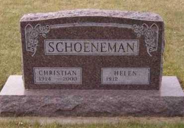 SCHOENEMAN, CHRISTIAN - Moody County, South Dakota | CHRISTIAN SCHOENEMAN - South Dakota Gravestone Photos