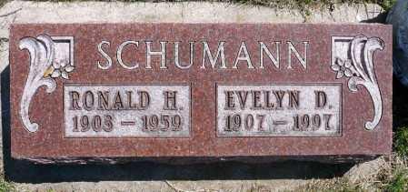 SCHUMANN, RONALD H - Moody County, South Dakota   RONALD H SCHUMANN - South Dakota Gravestone Photos