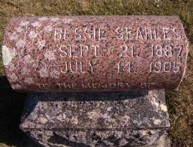SEARLES, BESSIE - Moody County, South Dakota   BESSIE SEARLES - South Dakota Gravestone Photos