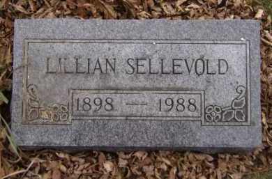 GUNDERSON SELLEVOLD, LILLIAN - Moody County, South Dakota | LILLIAN GUNDERSON SELLEVOLD - South Dakota Gravestone Photos