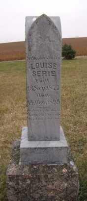 SERIE, LOUISE - Moody County, South Dakota | LOUISE SERIE - South Dakota Gravestone Photos