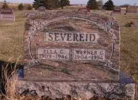 SEVEREID, WERNER C - Moody County, South Dakota | WERNER C SEVEREID - South Dakota Gravestone Photos