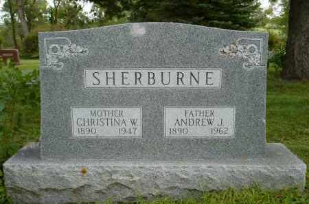 SHERBURNE, CHRISTINA W. - Moody County, South Dakota | CHRISTINA W. SHERBURNE - South Dakota Gravestone Photos