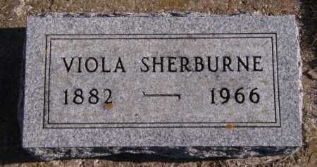 SHERBURNE, VIOLA - Moody County, South Dakota | VIOLA SHERBURNE - South Dakota Gravestone Photos
