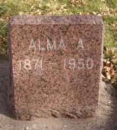 SHUKER, ALMA A - Moody County, South Dakota | ALMA A SHUKER - South Dakota Gravestone Photos