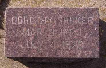 SHUKER, DOROTHY - Moody County, South Dakota | DOROTHY SHUKER - South Dakota Gravestone Photos