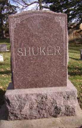 SHUKER, FAMILY - Moody County, South Dakota | FAMILY SHUKER - South Dakota Gravestone Photos