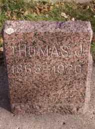 SHUKER, THOMAS J - Moody County, South Dakota | THOMAS J SHUKER - South Dakota Gravestone Photos