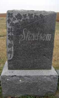 SKADSEM, FAMILY - Moody County, South Dakota | FAMILY SKADSEM - South Dakota Gravestone Photos