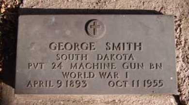 SMITH, GEORGE - Moody County, South Dakota | GEORGE SMITH - South Dakota Gravestone Photos