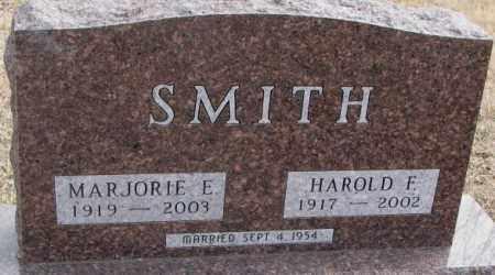 SMITH, MARJORIE E. - Moody County, South Dakota   MARJORIE E. SMITH - South Dakota Gravestone Photos