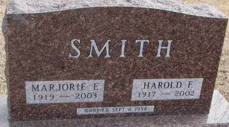 SMITH, HAROLD F. - Moody County, South Dakota | HAROLD F. SMITH - South Dakota Gravestone Photos