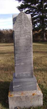 SMITH, SARAH A - Moody County, South Dakota | SARAH A SMITH - South Dakota Gravestone Photos