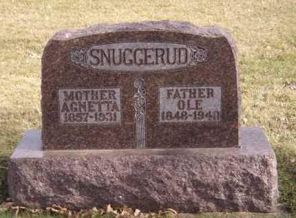 SNUGGERUD, OLE - Moody County, South Dakota | OLE SNUGGERUD - South Dakota Gravestone Photos