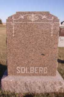 SOLBERG, FAMILY - Moody County, South Dakota | FAMILY SOLBERG - South Dakota Gravestone Photos