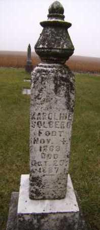 ULRIKSON SOLBERG, KAROLINE - Moody County, South Dakota | KAROLINE ULRIKSON SOLBERG - South Dakota Gravestone Photos