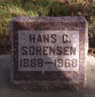 SORENSEN, HANS CHRISTIAN - Moody County, South Dakota | HANS CHRISTIAN SORENSEN - South Dakota Gravestone Photos