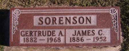 SORENSON, GERTRUDE A - Moody County, South Dakota | GERTRUDE A SORENSON - South Dakota Gravestone Photos