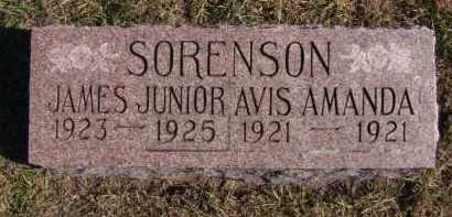 SORENSON, JAMES JR - Moody County, South Dakota | JAMES JR SORENSON - South Dakota Gravestone Photos