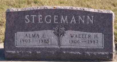 STEGEMANN, WALTER H - Moody County, South Dakota | WALTER H STEGEMANN - South Dakota Gravestone Photos