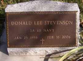 STEVENSON, DONALD LEE - Moody County, South Dakota | DONALD LEE STEVENSON - South Dakota Gravestone Photos