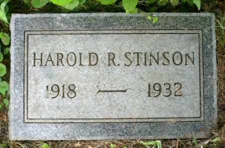 STINSON, HAROLD R. - Moody County, South Dakota | HAROLD R. STINSON - South Dakota Gravestone Photos
