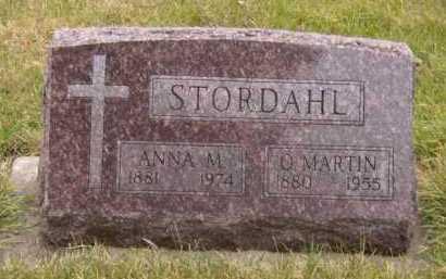STORDAHL, O MARTIN - Moody County, South Dakota | O MARTIN STORDAHL - South Dakota Gravestone Photos