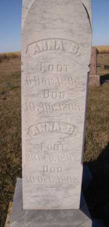 STORDAHL, ANNA B - Moody County, South Dakota | ANNA B STORDAHL - South Dakota Gravestone Photos