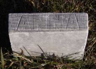 STORDAHL, ANNA (FOOTSTONE) - Moody County, South Dakota | ANNA (FOOTSTONE) STORDAHL - South Dakota Gravestone Photos