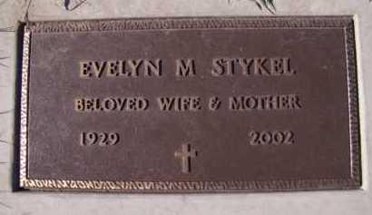 STYKEL, EVELYN M - Moody County, South Dakota | EVELYN M STYKEL - South Dakota Gravestone Photos