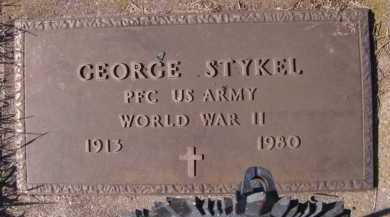 STYKEL, GEORGE (MILITARY) - Moody County, South Dakota | GEORGE (MILITARY) STYKEL - South Dakota Gravestone Photos