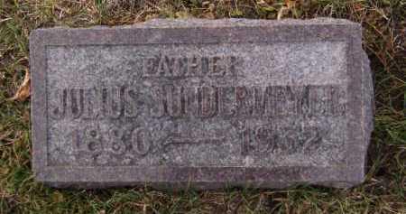 SUNDERMEYER, JULIUS - Moody County, South Dakota | JULIUS SUNDERMEYER - South Dakota Gravestone Photos
