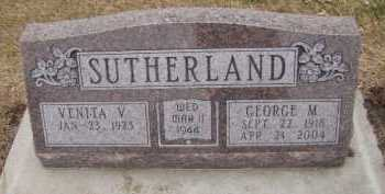 SUTHERLAND, GEORGE M - Moody County, South Dakota | GEORGE M SUTHERLAND - South Dakota Gravestone Photos