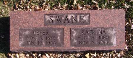 SWANE, KATRENA - Moody County, South Dakota | KATRENA SWANE - South Dakota Gravestone Photos
