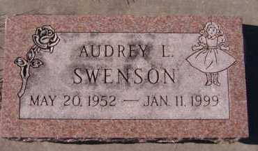SWENSON, AUDREY L - Moody County, South Dakota   AUDREY L SWENSON - South Dakota Gravestone Photos