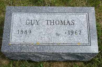 THOMAS, GUY - Moody County, South Dakota | GUY THOMAS - South Dakota Gravestone Photos