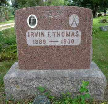 THOMAS, IRVIN I. - Moody County, South Dakota   IRVIN I. THOMAS - South Dakota Gravestone Photos
